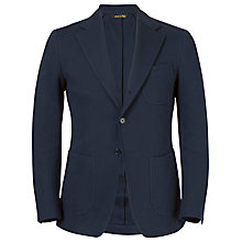 Buy J. Lindeberg Hopper Unconstructed Jersey Blazer, Navy Online at johnlewis.com