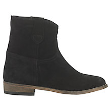 Buy Jigsaw Eve Low Block Heeled Ankle Boots Online at johnlewis.com