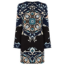 Buy Warehouse Persian Placed Dress, Multi Online at johnlewis.com