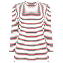 Buy Warehouse Striped Top, Multi Online at johnlewis.com