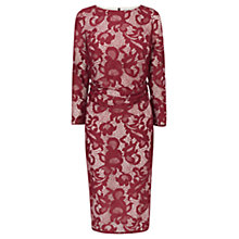Buy Coast Coralla Lace Dress, Mulberry Online at johnlewis.com