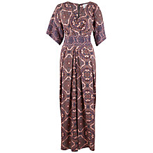 Buy Closet Cross Front Printed Maxi Dress, Multi Online at johnlewis.com
