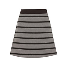 Buy Oasis Stripe Poppy Skirt, Multi Online at johnlewis.com