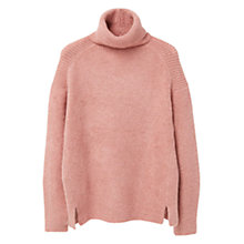 Buy Mango Turtle Neck Jumper, Bubblegum Pink Online at johnlewis.com