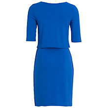 Buy French Connection Manhattan Layered Dress, Empire Blue Online at johnlewis.com