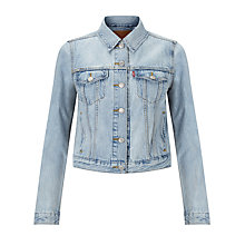 Buy Levi's Authentic Trucker Jacket, Surplus Hybrid Online at johnlewis.com