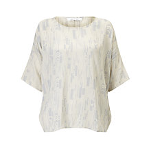 Buy Samsoe & Samsoe Mains Printed T-Shirt Online at johnlewis.com