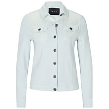 Buy Oui Sporty Denim Look Jacket, Plein Air Online at johnlewis.com