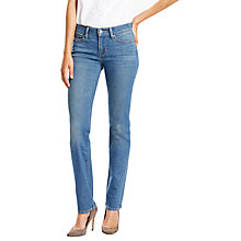 Buy Levi's 714 Mid Rise Straight Jeans, Antique Indigo Online at johnlewis.com