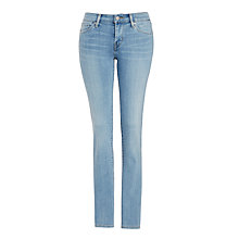 Buy Levi's 712 Mid Rise Slim Jeans, Bleached Sky Online at johnlewis.com