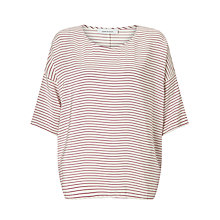 Buy Samsoe & Samsoe Mains Stripe T-Shirt Online at johnlewis.com