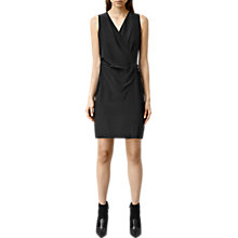 Buy AllSaints Ashlar Dress, Black Online at johnlewis.com