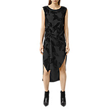Buy AllSaints Riviera Lux Dress, Black Online at johnlewis.com