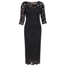 Buy Jolie Moi Lace Dress, Black Online at johnlewis.com