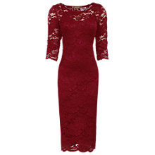 Buy Jolie Moi Floral Lace Midi Dress Online at johnlewis.com