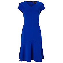 Buy Phase Eight Dalia Drop Waist Dress, Cobalt Online at johnlewis.com