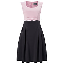 Buy Phase Eight April Dress, Pink/Graphite Online at johnlewis.com