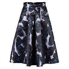 Buy Jolie Moi Butterfly Print Skirt, Black Online at johnlewis.com