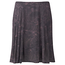 Buy Jigsaw Pleated Petal Flippy Skirt, Multi Online at johnlewis.com