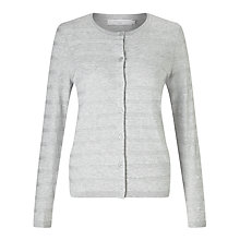 Buy John Lewis Stripe Crew Neck Cardigan Online at johnlewis.com