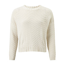 Buy Collection WEEKEND by John Lewis Stitch Detail Jumper, Ivory Online at johnlewis.com