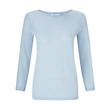 Buy John Lewis Tuck Stitch Boat Neck Cotton Jumper Online at johnlewis.com