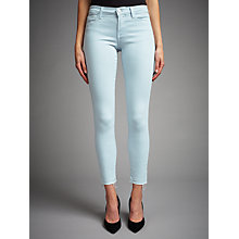 Buy J Brand 811 Mid Rise Skinny Jeans, Pale Smoke Online at johnlewis.com