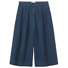 Buy Toast Denim Culottes, Indigo Online at johnlewis.com