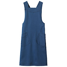 Buy Toast Emmet Pinafore Dress, French Blue Online at johnlewis.com
