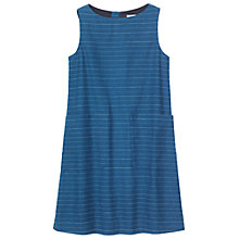 Buy Toast Sleeveless Trapeze Dress, Indigo/Ivory Online at johnlewis.com