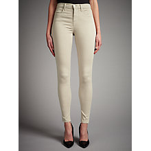 Buy J Brand Maria High Rise Skinny Jeans, Ashwood Online at johnlewis.com