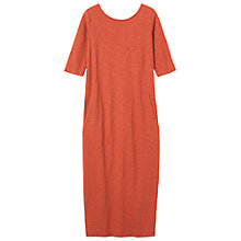 Buy Toast Noelle II Midi Dress, Madder Online at johnlewis.com