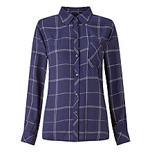 Buy Rails Hunter Plaid Shirt, Navy/White Grid Online at johnlewis.com