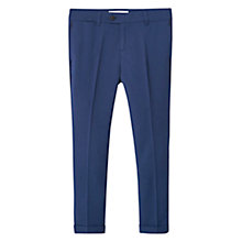 Buy Mango Kids Boys' Suit Trousers, Blue Online at johnlewis.com