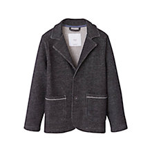 Buy Mango Kids Boys' Flecked Blazer, Grey Online at johnlewis.com