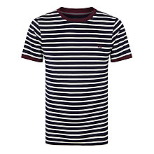 Buy Fred Perry Bretton Stripe T-shirt Online at johnlewis.com