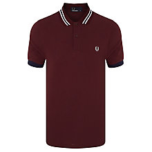 Buy Fred Perry Bomber Polo Shirt Online at johnlewis.com