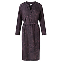 Buy Jigsaw Pleated Petal Tunic Dress, Multi Online at johnlewis.com