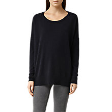Buy AllSaints Cashmere Char Jumper Online at johnlewis.com