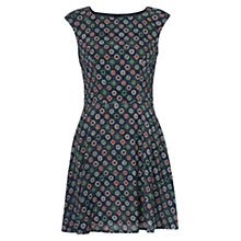 Buy French Connection Medina Tile Drop Dress, Mineral Green Multi Online at johnlewis.com