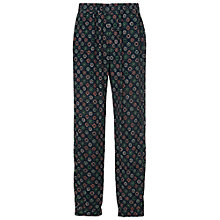 Buy French Connection Medina Tile Drape Joggers, Mineral Green Multi Online at johnlewis.com