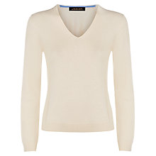 Buy Jaeger V-Neck Cashmere Jumper Online at johnlewis.com