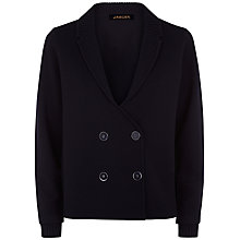 Buy Jaeger Knitted Peacoat, Midnight Online at johnlewis.com