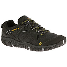 Buy Merrell All Out Blaze Aero Sport Men's Walking Shoes, Black Online at johnlewis.com