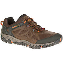 Buy Merrell All Out Blaze Waterproof Ventilator Men's Walking Shoes, Burnt Maple Online at johnlewis.com
