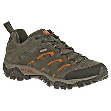 Buy Merrell Moab Waterproof Leather Men's Walking Shoes, Beluga Online at johnlewis.com