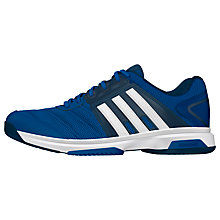 Buy Adidas Barricade Approach Stripes Men's Tennis Shoes, Blue Online at johnlewis.com