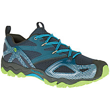 Buy Merrell Grassbow Rider Men's Walking Shoes, Blue Online at johnlewis.com
