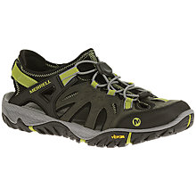 Buy Merrell All Out Blaze Sieve Men's Walking Shoes, Castlerock/Green Oasis Online at johnlewis.com