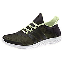 Buy Adidas Clima Cool Running Shoes, Black Online at johnlewis.com
